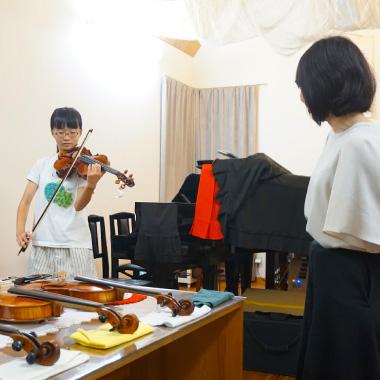 ヴァイオリン選定