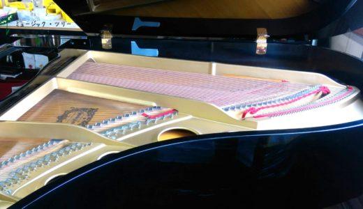 耳成教室ピアノがカワイG 2から、ヤマハG 5E に替わります。